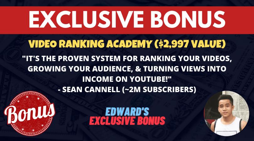 bonus video ranking academy 2021