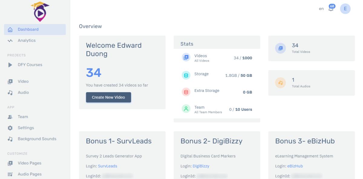 coursium-review-main-dashboard-login