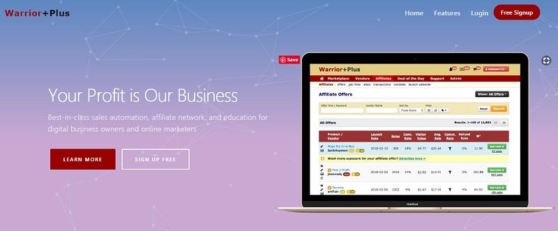 warriorplus-homepage-affiliate-marketing