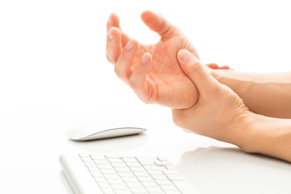 Working too much - suffering from a Carpal tunnel syndrome - you