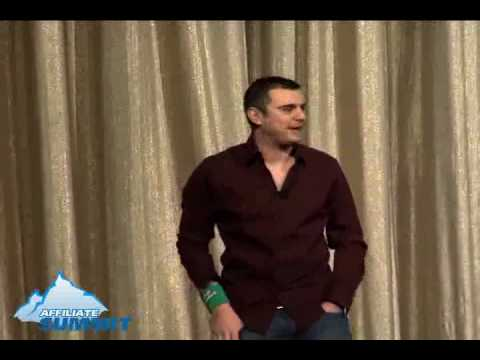 Video thumbnail for youtube video Affiliate Summit West 2009 Keynote Address by Gary Vaynerchuk [transcript] -