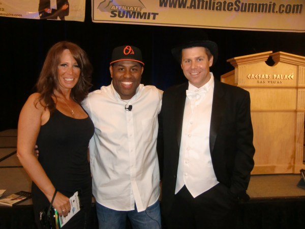 Missy Ward, ET, and Shawn Collins at Affiliate Summit