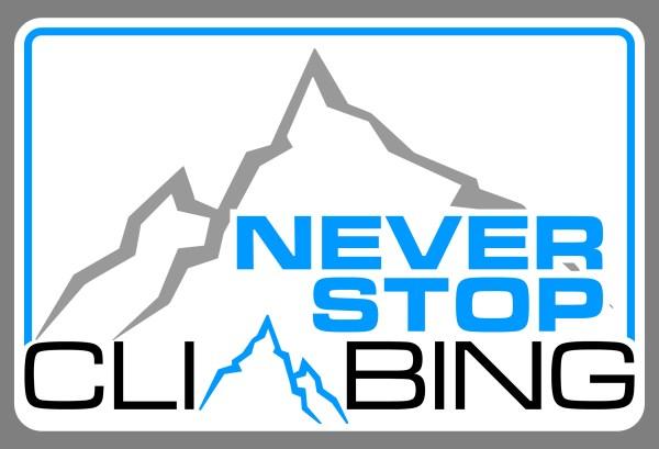 Never Stop Climbing