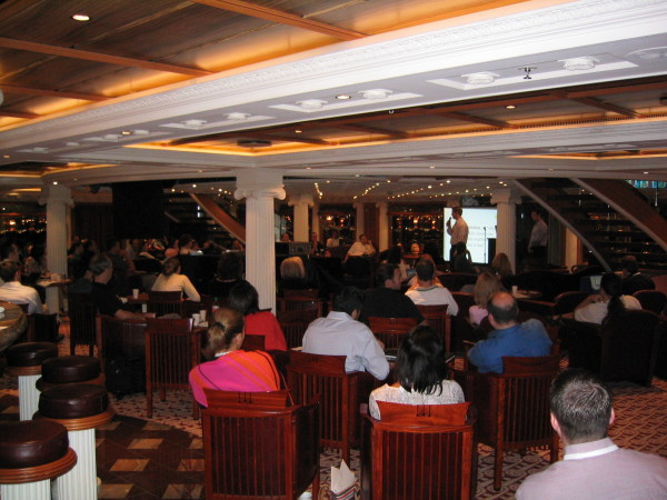 session at Affiliate Summit 2004