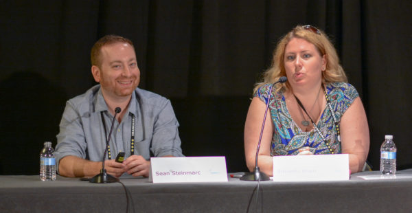 Sean Steinmarc and Amanda Blain at Affiliate Summit East 2016