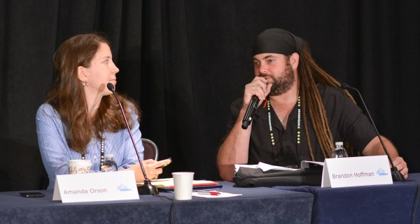 Amanda Orson and Brandon Hoffman at Affiliate Summit East 2016