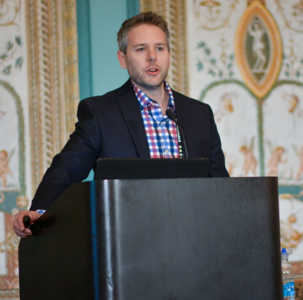 Adam Dahlen at Affiliate Summit West 2017