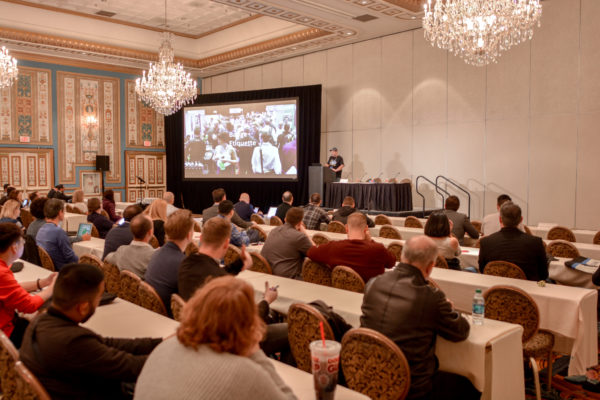Educational session at Affiliate Summit West 2017