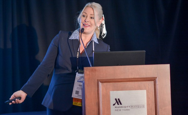 Heather Paulson at Affiliate Summit East 2017