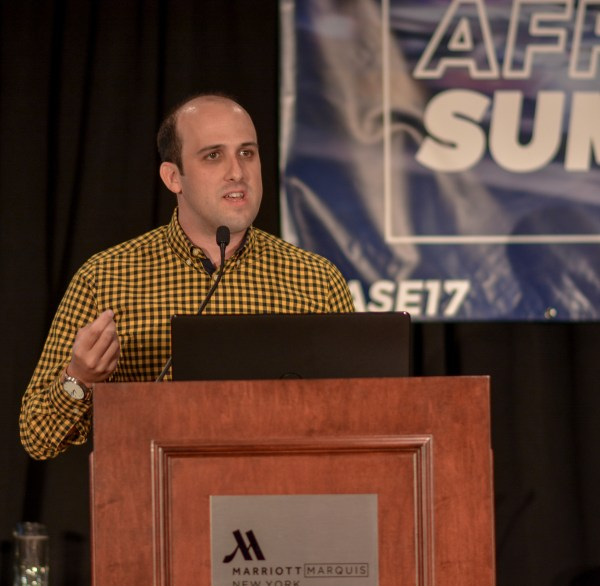 Taylor Barr at Affiliate Summit East 2017