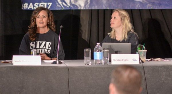 Jennifer Myers Ward and Christen Evans at Affiliate Summit East 2017