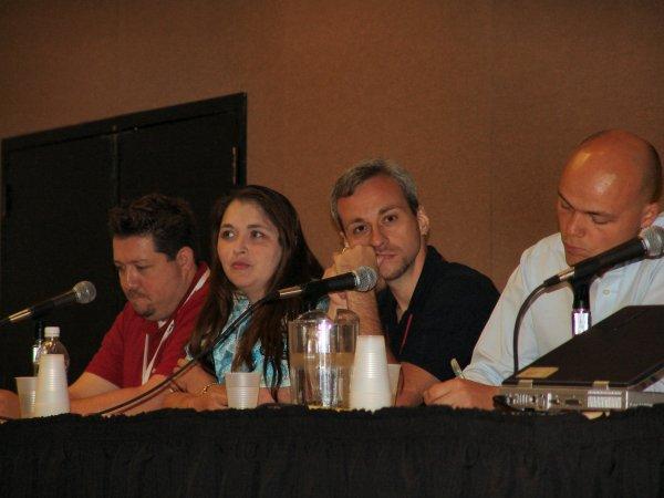 Blogging panel at ASW05