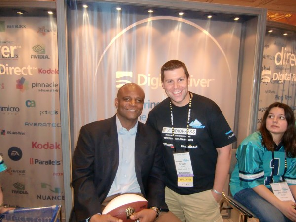 Warren Moon and Shawn Collins at Affiliate Summit West 2011