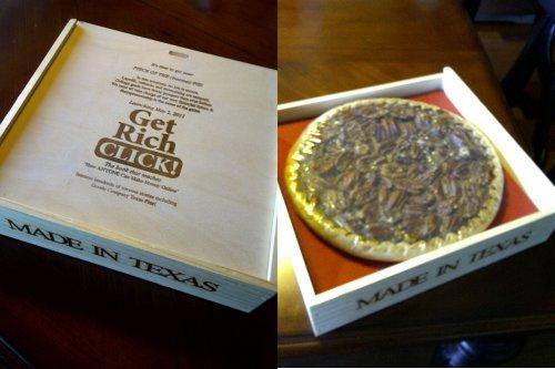 Get Rich Click Pecan Pie