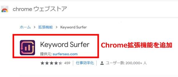 Keyword Surferインストール方法