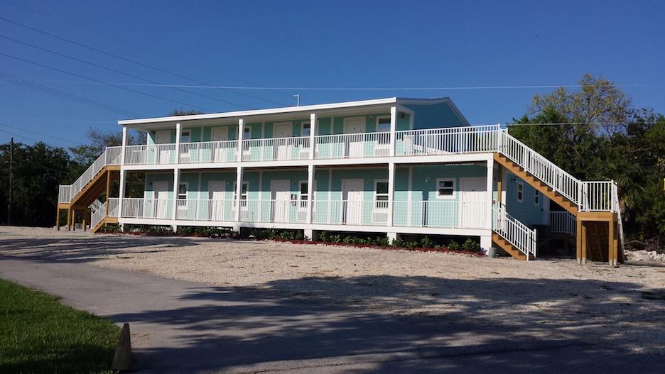 modular motel exterior
