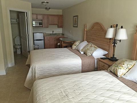 modular motel interior