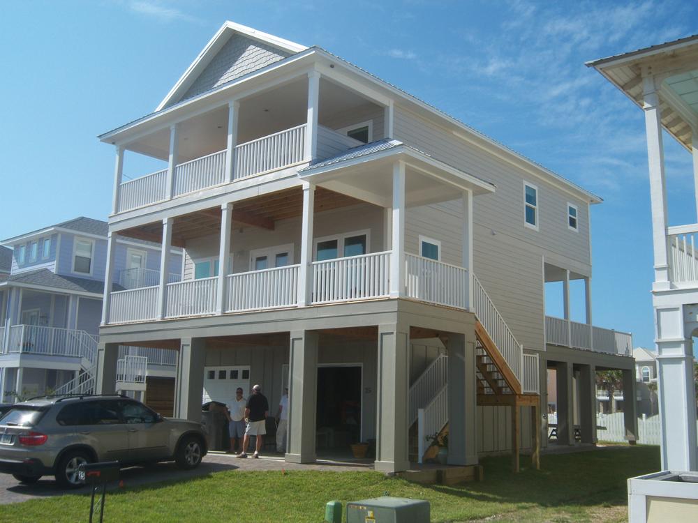 custom coastal modular home
