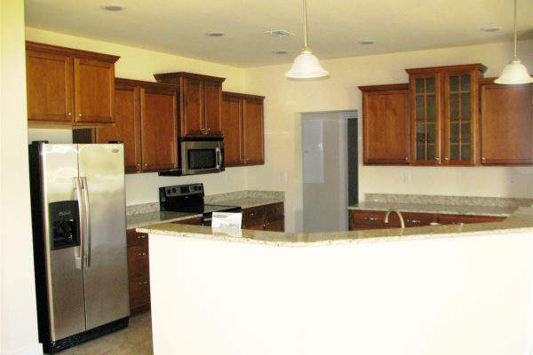 mognolia modular home kitchen