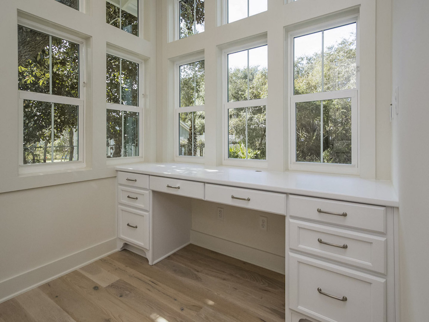custom modular home office