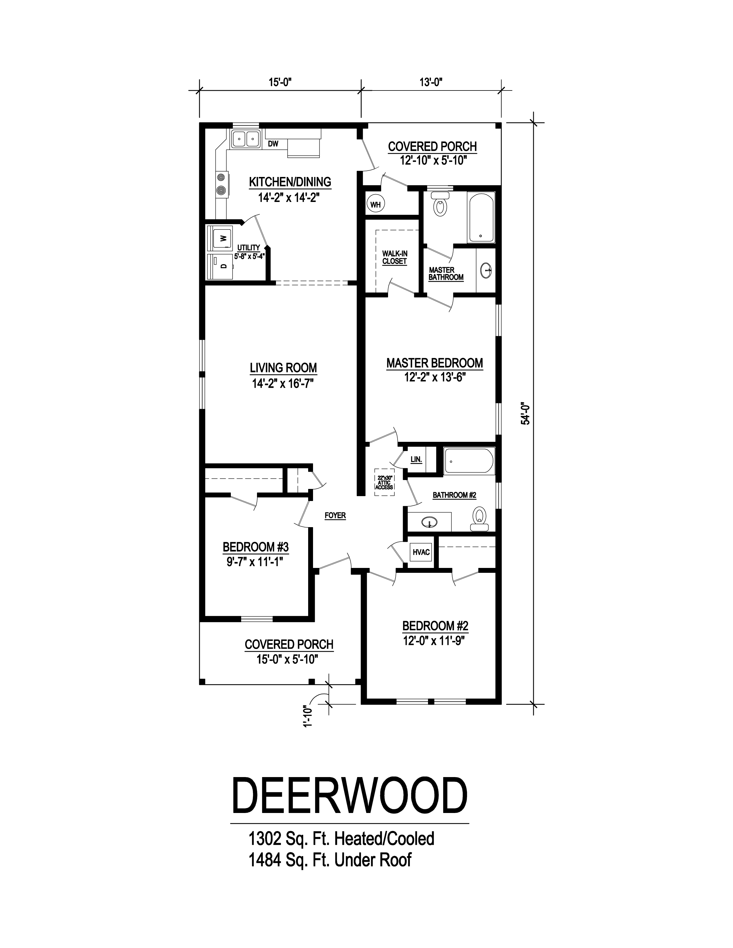 deerwood floorplan