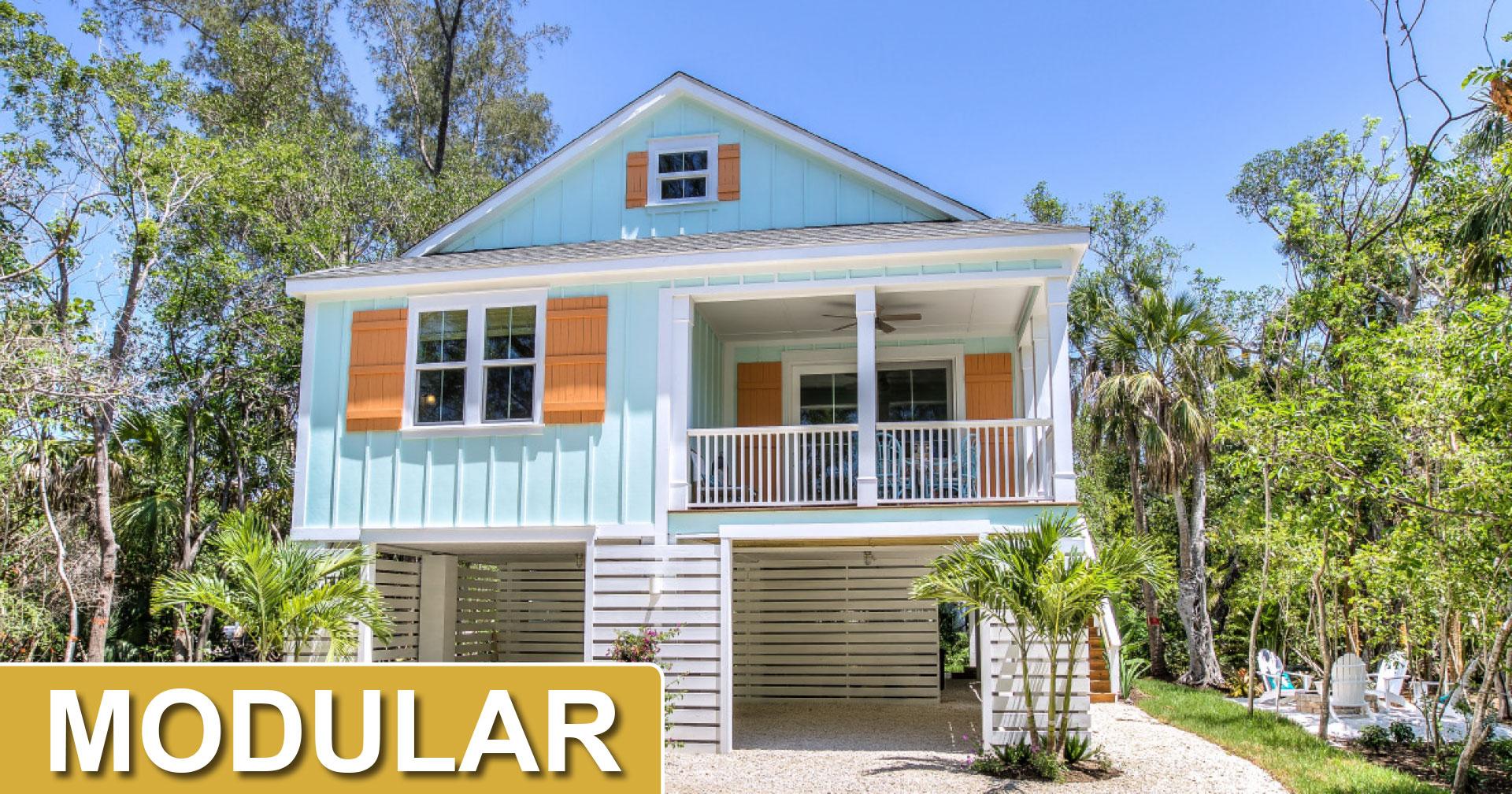 modular home image