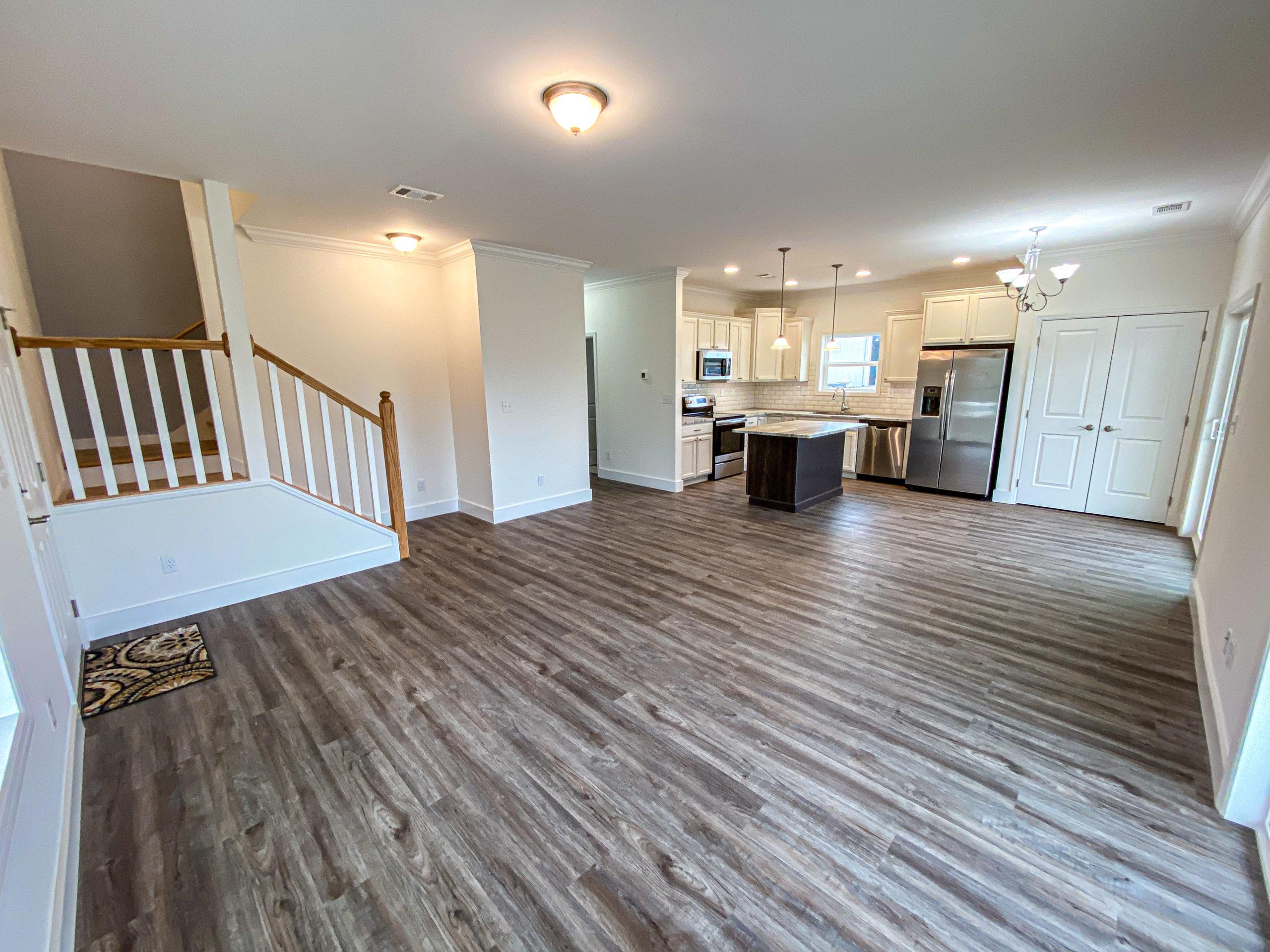 modular home living room