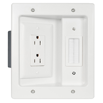flat panel tv outlet