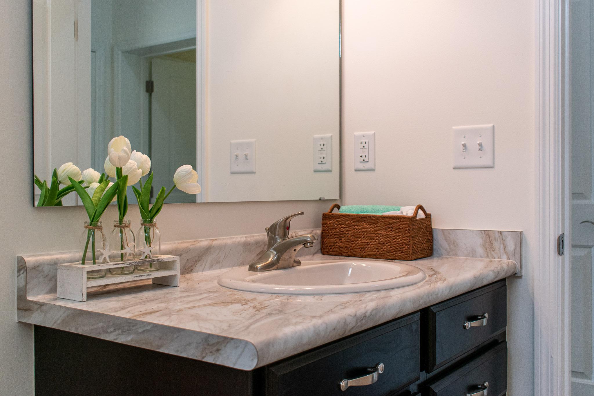 modular home bathroom