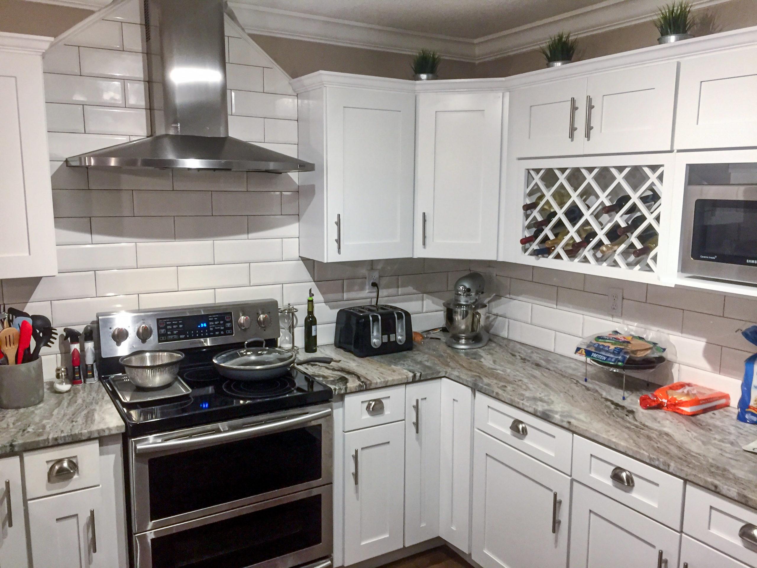 moss creek modular home kitchen