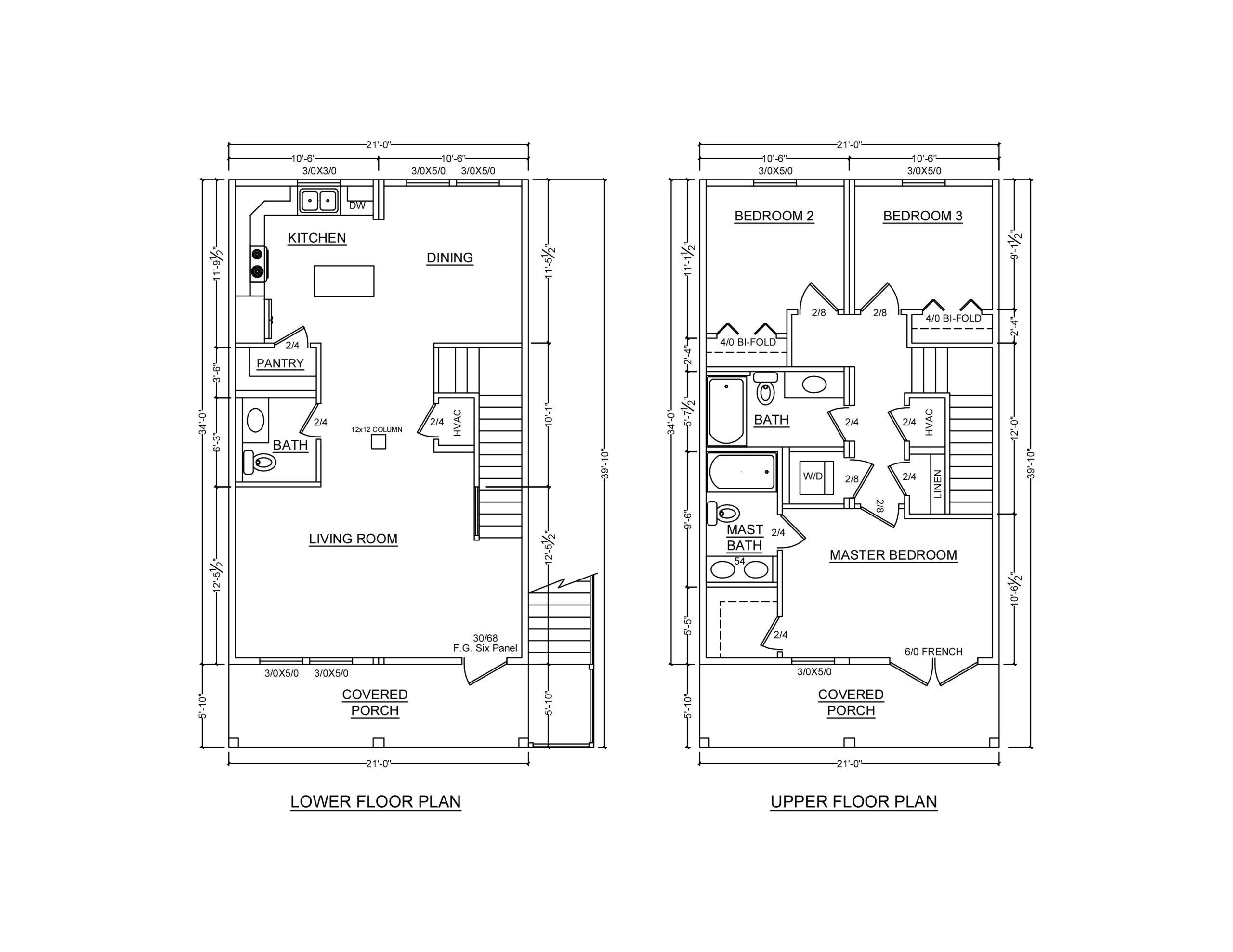 Sunset Shack Modular home floor plan
