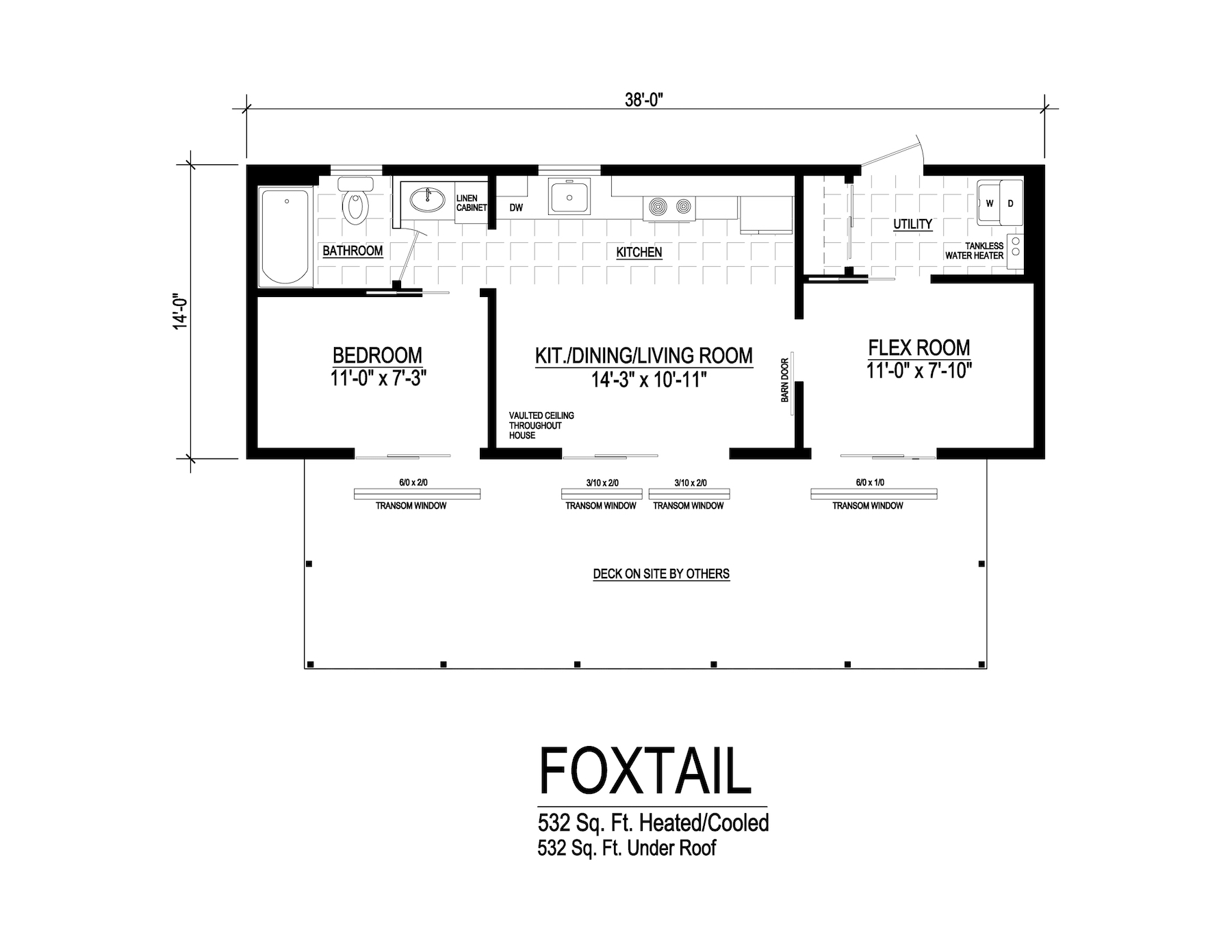 foxtail modular home floorplan