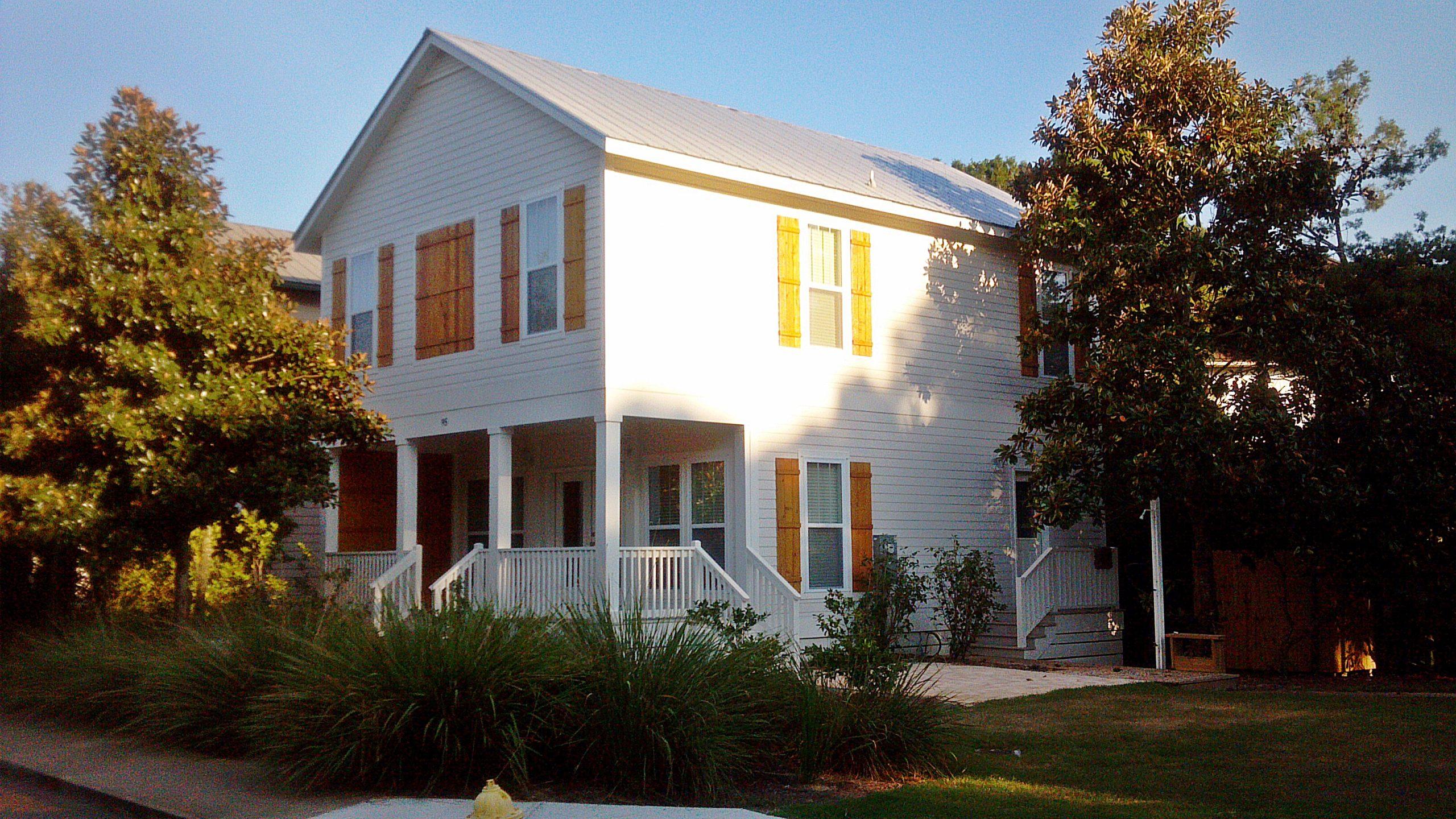 redfish modular home exterior