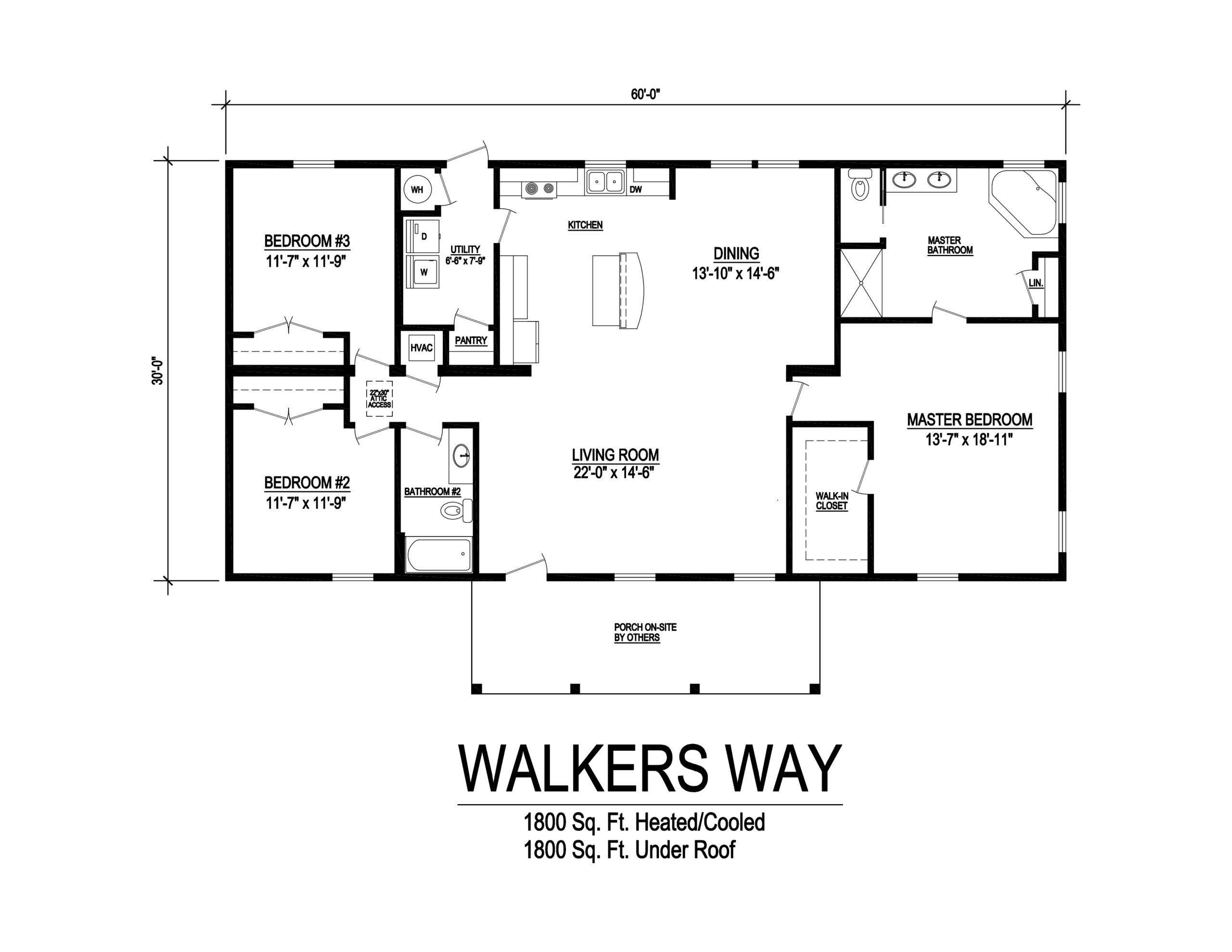 walkers way modular home floor plan