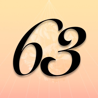 Number 63 Meaning