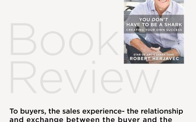 Book Review: You Don't Have To Be a Shark by Robert Herjavec