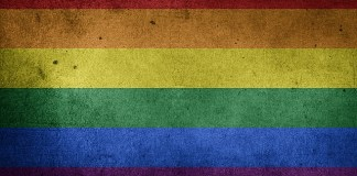 image of rainbow flag