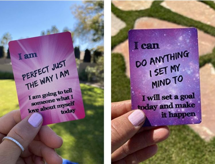 Daily Positive Affirmation Cards for Kids by Because I'm Happy