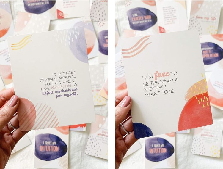 New Mama Affirmation Cards by Fourth Trimester Mama