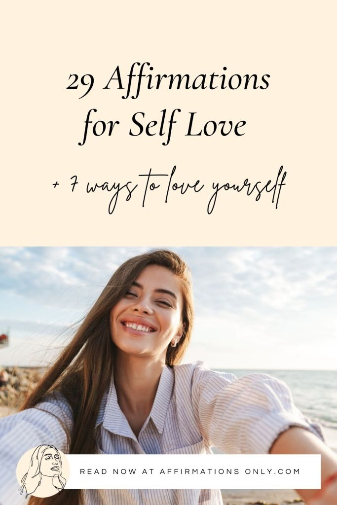 Save 'Affirmations for Self Love' to Pinterest