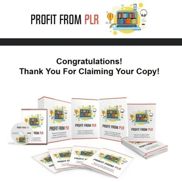 Review Profit From PLR by Aurelius Tjin
