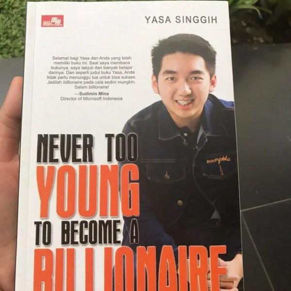 Yasa Singgih The Billionaire, Berbagi Cerita Tentang Sukses di Usia Muda