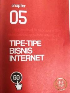 Buku The Internet Millionaire Andry Salim Chapter 05 Tipe-tipe Bisnis Internet