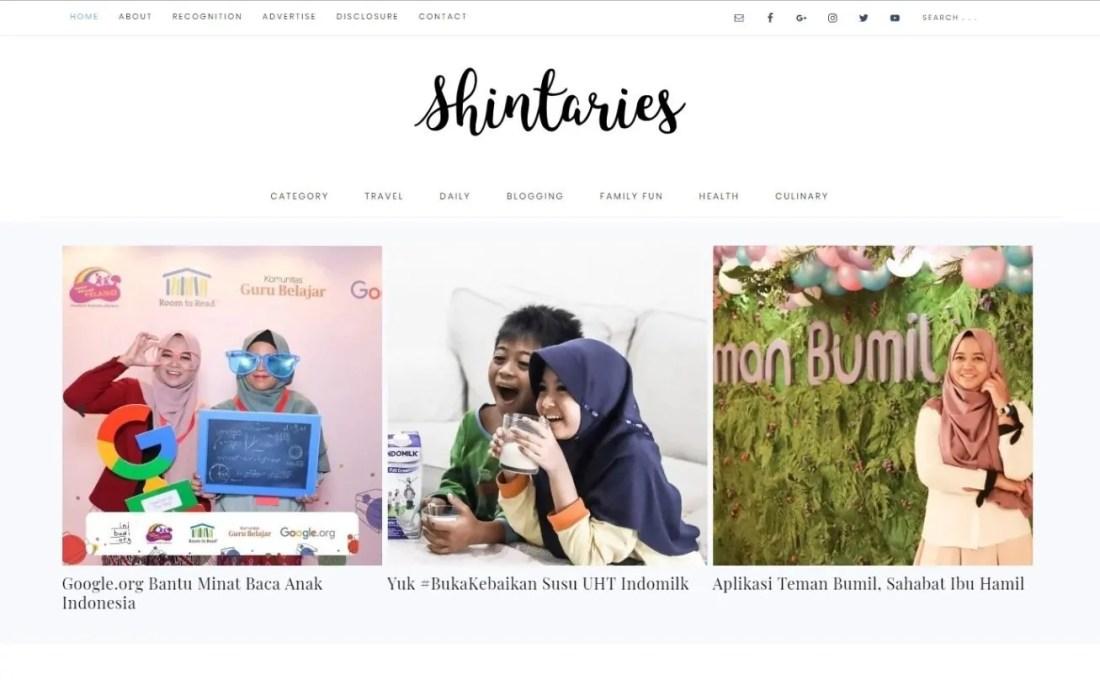 Blogger Perempuan Indonesia Shintaries Nijerinda