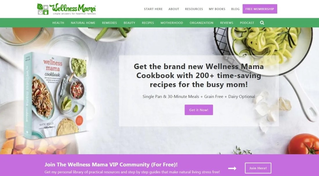 Blog Ibu Rumah Tangga Sukses Katie Wellness Mama