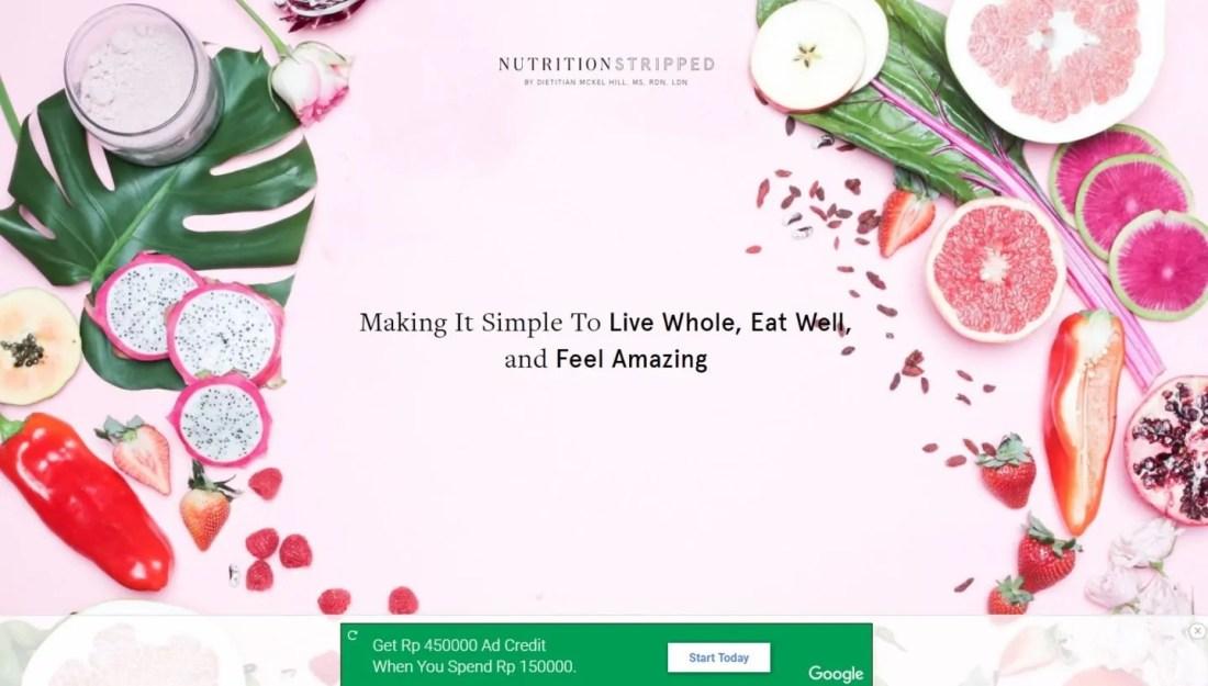 Blog Ibu Rumah Tangga Sukses Nutrition Stripped