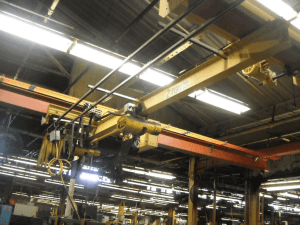 2 ton budgit overhead crane