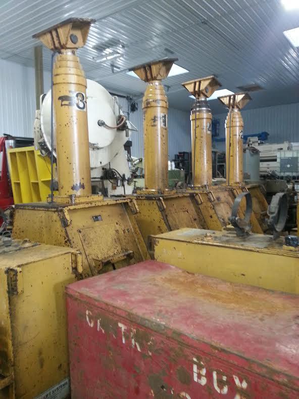 400 Ton Lift Systems Hydraulic Gantry With Runway