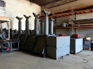 400 Ton Lift Systems 22A Hydraulic Gantry Crane 2