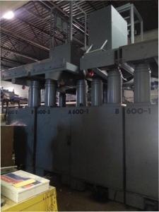 600 Ton Riggers Mfg Hydraulic Gantry Crane 8